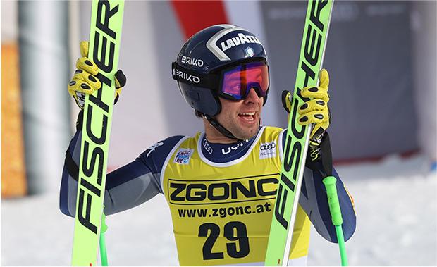 Matteo Marsaglia träumt von einer Teilnahme an den Olympischen Winterspielen in Peking (Foto: © Archivio FISI/Pentaphoto/Alessandro Trovati)
