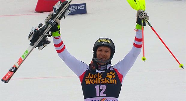 Michael Matt gewinnt Slalom in Kranjska Gora, Marcel Hirscher holt sich Kristall