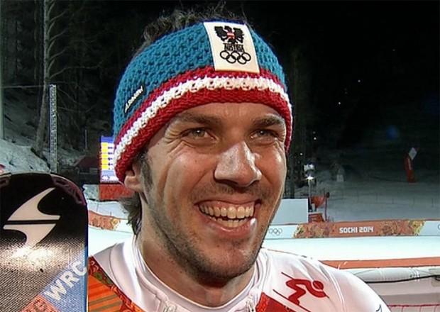 Slalom Olympiasieger Mario Matt (AUT)