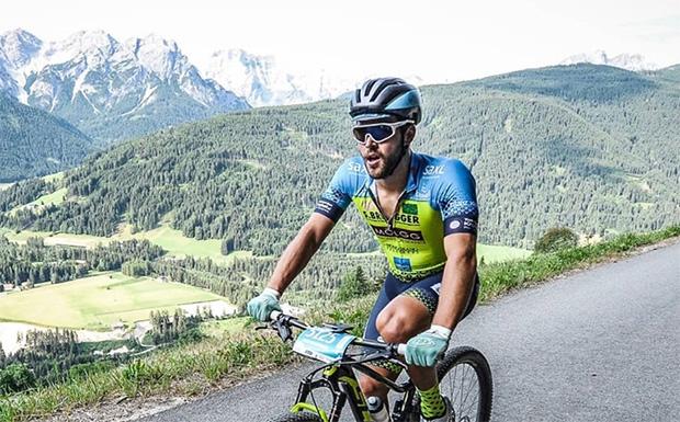 Simon Maurberger freut sich über eine gute Saisonvorbereitung (© Simon Maurberger / Facebook)