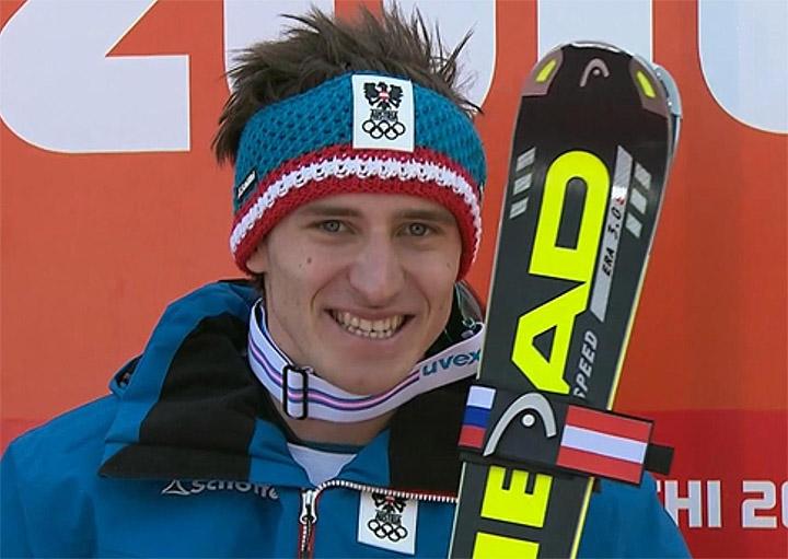 Abfahrt Olympiasieger 2014 - Matthias Mayer