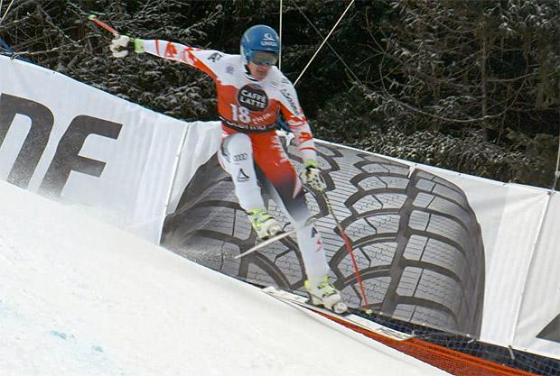 Mayer Abfahrts-Zweiter in Santa Caterina