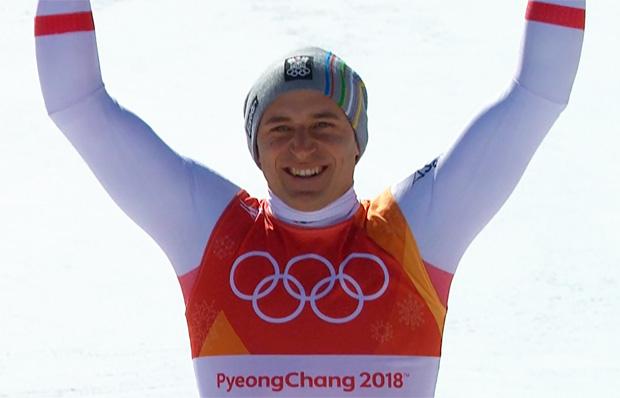 Matthias Mayer ist Olympiasieger im Super-G