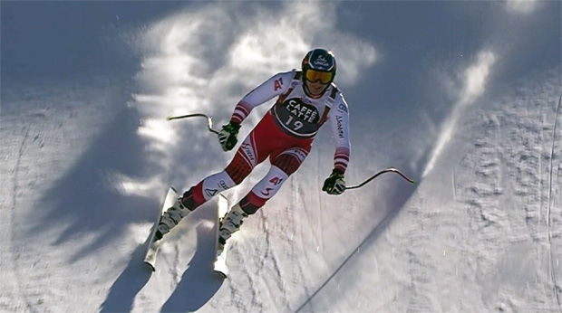 Super-G Olympiasieger Matthias Mayer wurde heute bester ÖSV-Athlet.