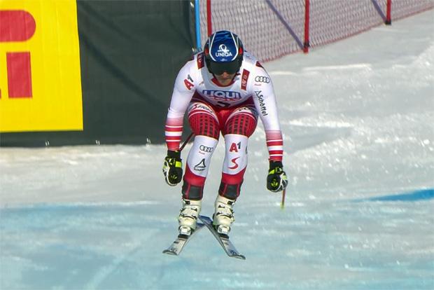 SKI WM 2019: Matthias Mayer mit Tagesbestzeit beim 2. Abfahrtstraining