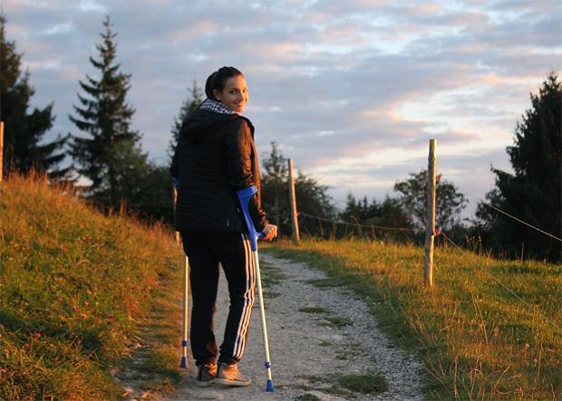 DSV-Nachwuchshoffnung Ronja Mayr stellt die Rennskier in den Keller (Foto: Ronja Mayr/privat)