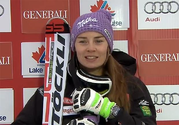 Eine große Favoritin auf den Sieg am heutigen Samstag, ist die Siegerin der ersten Entscheidung, die Slowenin Tina Maze.