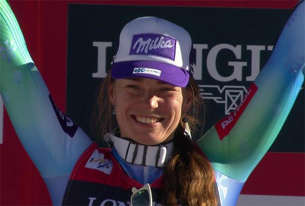 Die Kombinations-Weltmeister 2015 heißt Tina Maze