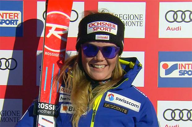 Mélanie Meillard krönt Supersaison mit Schweizer Meistertitel im Torlauf