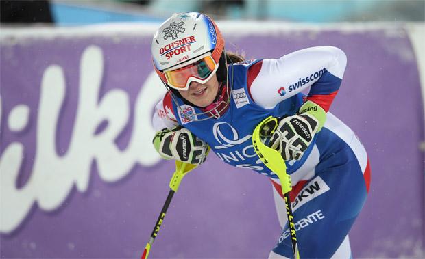 © Kraft Foods / Mélanie Meillard hat ihre Skier wieder angeschnallt