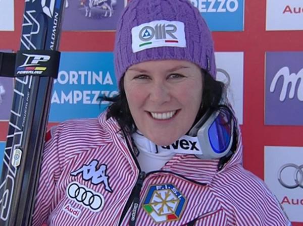 Daniela Merighetti gewinnt Super G Titel