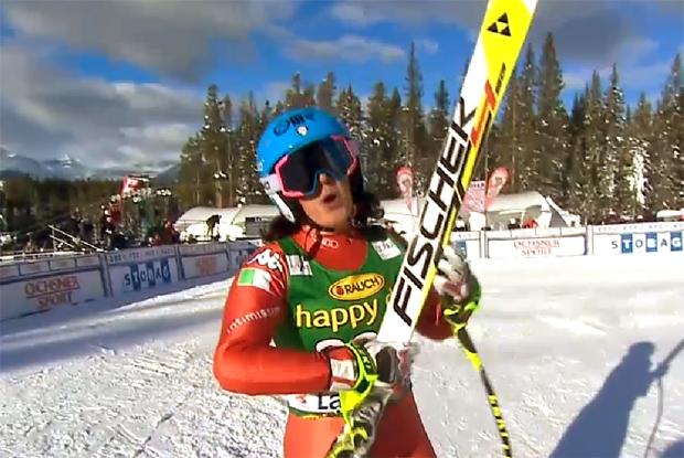 Daniela Merighetti beste Azzurra in Lake Louise