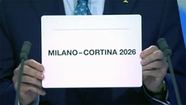 Die Olympischen Winterspiele sind 2026 in Mailand/Cortina d'Ampezzo zu Gast