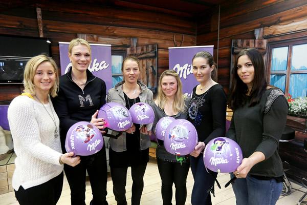 © Kraft Foods  /  Milka Ski Girls WM Helme
