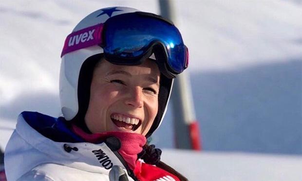 Romane Miradoli steht wieder auf den Skiern (Foto: © Romane Miradoli)