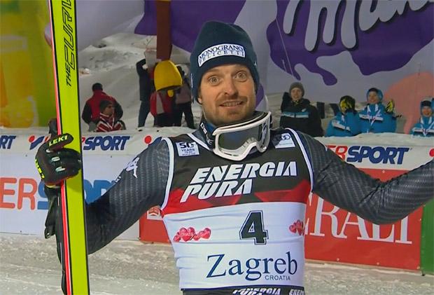 Manfred Mölgg gewinnt Slalom von Zagreb