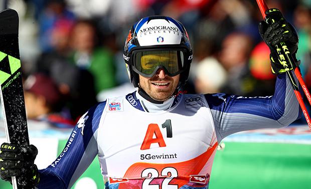 Für Manfred Mölgg schlägt es beim Ski Weltcup Auftakt in Sölden 13! (Foto: © Archivio FISI/ Marco Trovati/Pentaphoto)
