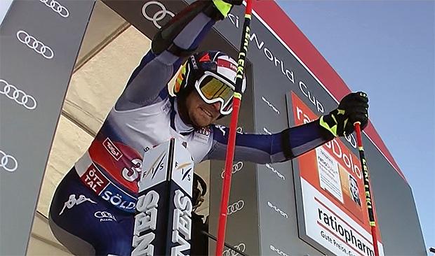 Manfred Mölgg hält Fischer-Ski die Treue