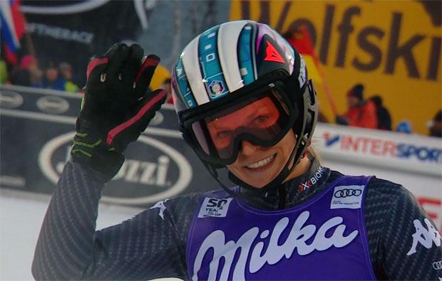 Manuela Mölgg peilt in Flachau ein Top-10-Ergebnis an