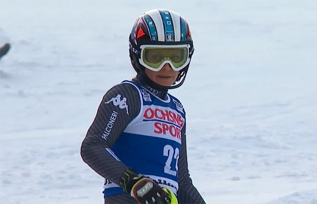 Slalomtag für Manuela Mölgg war heute kurz