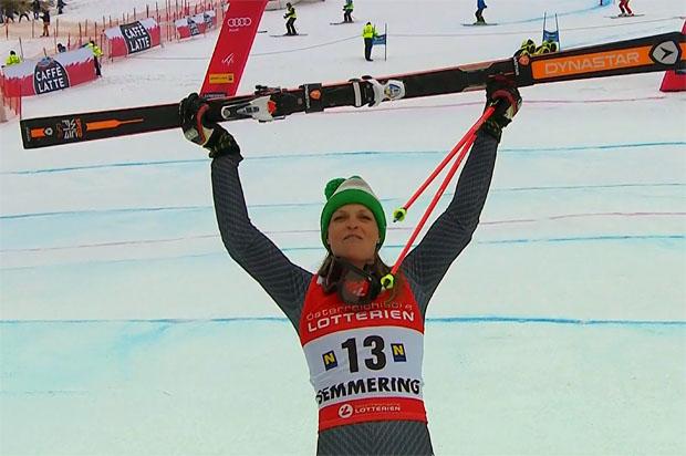 Manuela Mölgg will in Zagreb ein gutes Slalomergebnis erzielen