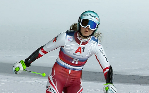 Elisa Mörzinger war in der vergangenen Saison als Achte, beste Österreicherin beim Parallelrennen in Lech Zürs