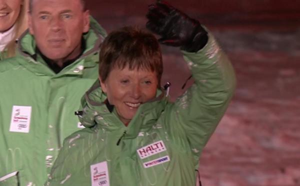 Annemarie Moser-Pröll bei der WM 2013