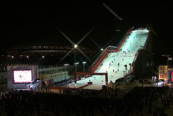 Julia Mancuso und Alexis Pinturault gewinnen Parallel Slalom in Moskau