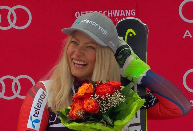 Rebensburg Zweite, Shiffrin holt Gesamtweltcup