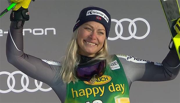 Ragnhild Mowinckel steht wieder auf den Skiern