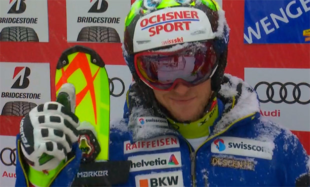 Justin Murisier führt nach Wengener Kombi-Slalom