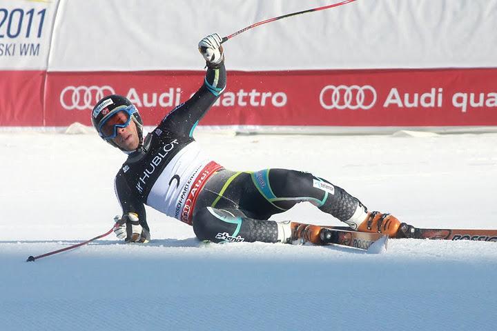 © Gerwig Löffelholz / Das Bild täuscht - Lars Elton Myhre war auch beim 2. Europacupslalom im norwegischen Trysil obenauf