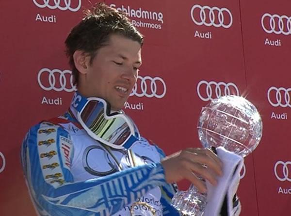 """Andre Myhrer gewinnt letzten Slalom und """"kleine"""" Kugel"""