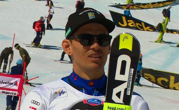 Andre Myhrer gewinnt Slalom in St. Moritz
