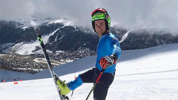Roberto Nani will beim Ski Weltcup Opening in Sölden erfolgreich in die WM-Saison starten. (© Roberto Nani / Facebook)
