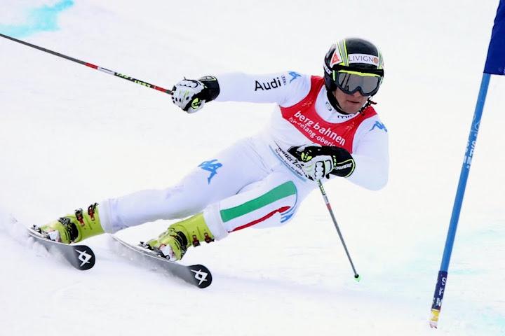 © Gerwig Löffelholz / Roberto Nani Italienischer Meister im Slalom