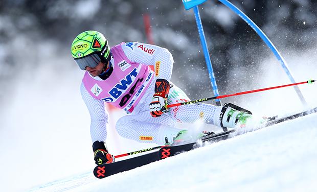 Roberto Nani gewinnt den Europacup-Riesenslalom in Berchtesgaden (© Archivo FISI/ Alessandro Trovati/Pentaphoto)