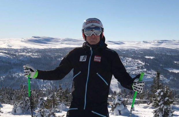 Christopher Neumayer gewinnt zweite Europacupabfahrt in Kvitfjell (Foto: Christopher Neumayer / facebook)