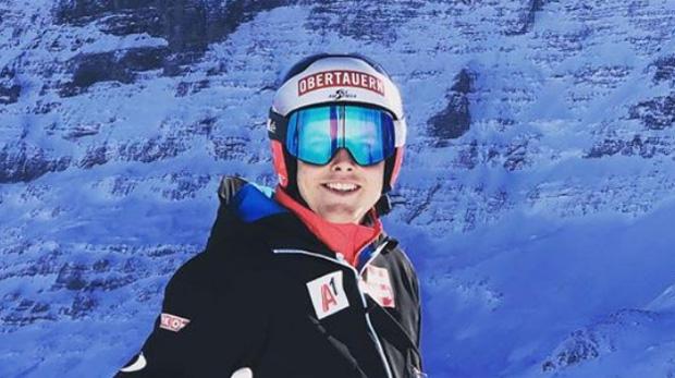 Christopher Neumayer gewinnt Europacup-Abfahrt im Sarntal (Foto: Christopher Neumayer / Facebook)