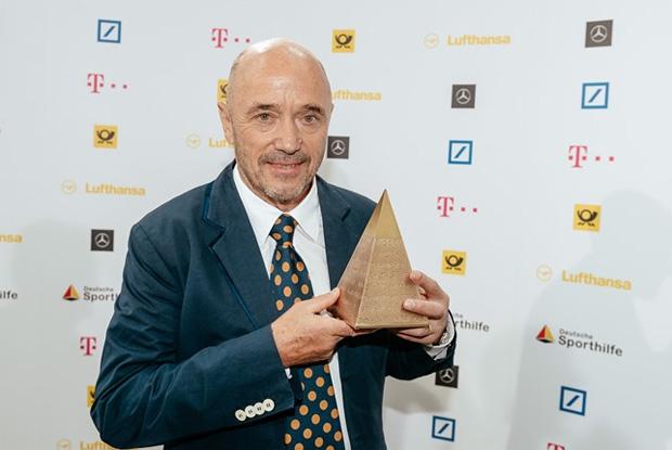 """Christian Neureuther, Preisträger der """"Goldenen Sportpyramide"""" 2017 (Bild: """"picture alliance für Deutsche Sporthilfe"""")"""