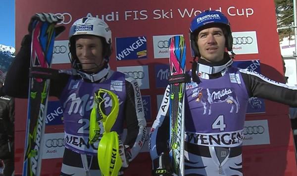 Felix Neureuther und Firtz Dopfer wollen in Kranjska Gora aufzeigen.