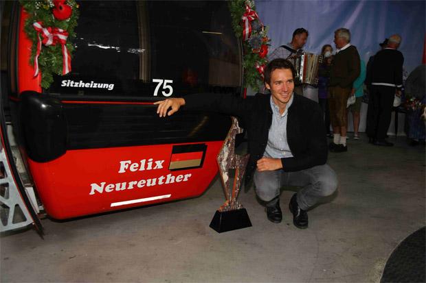 © hahnenkamm.com / Felix Neureuther - Hahnenkamm-Slalomsieger 2010 und 2014