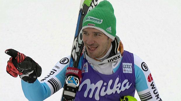Felix Neureuther holt sich Sieg im Slalom von Wengen