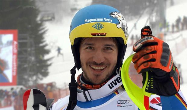 Felix Neureuther, ist in Slalom und Riesenslalom die größte deutsche Medaillen-Hoffnung bei den Herren.