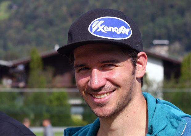 Verstehen Sie Spaß? Felix Neureuther in der Gondel des Grauens  (Foto: Walter Schmid / Skiweltcup.TV)