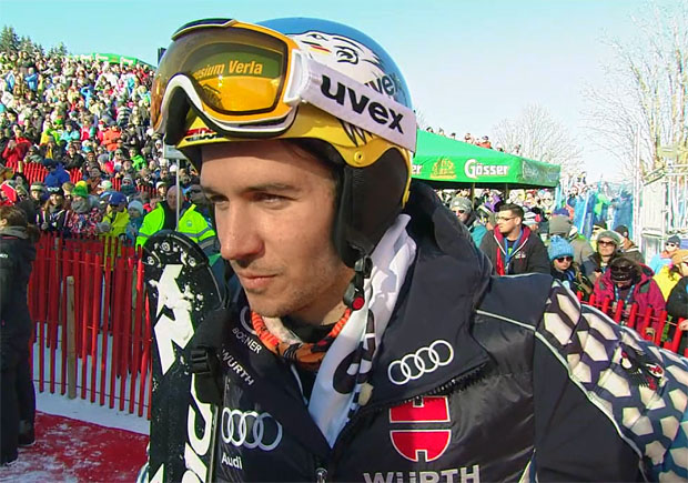 Start von Felix Neureuther beim Riesenslalom in Garmisch-Partenkirchen wackelt.