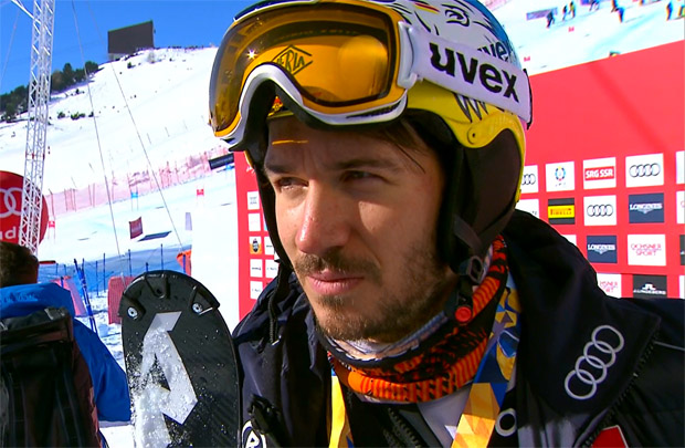 Felix Neureuther steht wieder auf den Skiern