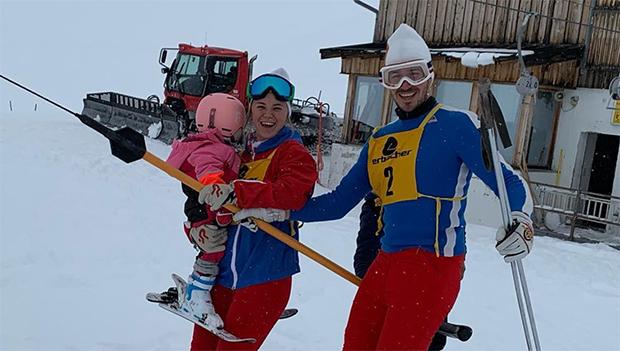 Felix Neureuther und seine Miriam freuen sich auf das zweite Kind (© Felix Neureuther / instagram)