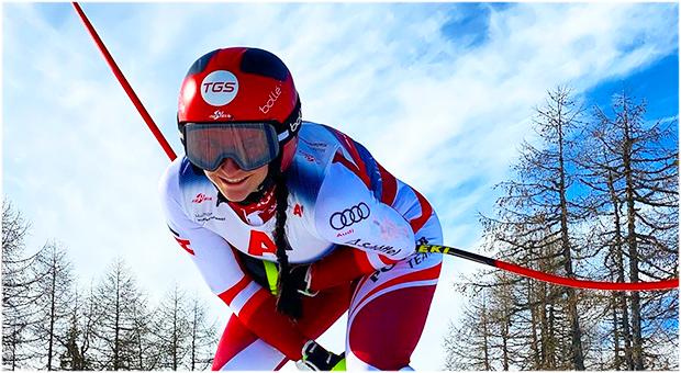 Michelle Niederwieser freut sich auf ihr Comeback (Foto © Michelle Niederwieser / Instagram)