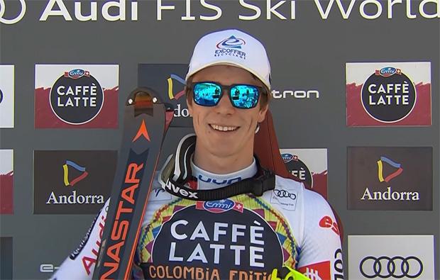 Clement Noel will schnellstmöglich wieder die Skier anschnallen